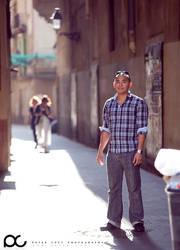 Me in Barcelona by ploftdk