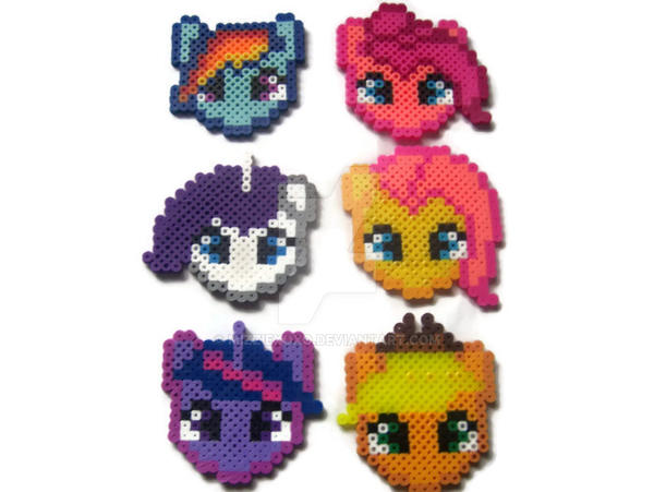 My Little Pony Perler Bead Sprites By Mizziexoxo On Deviantart