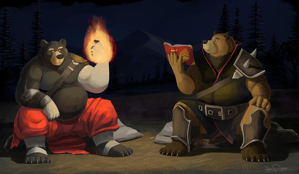 Camping out by Dj-Rodney