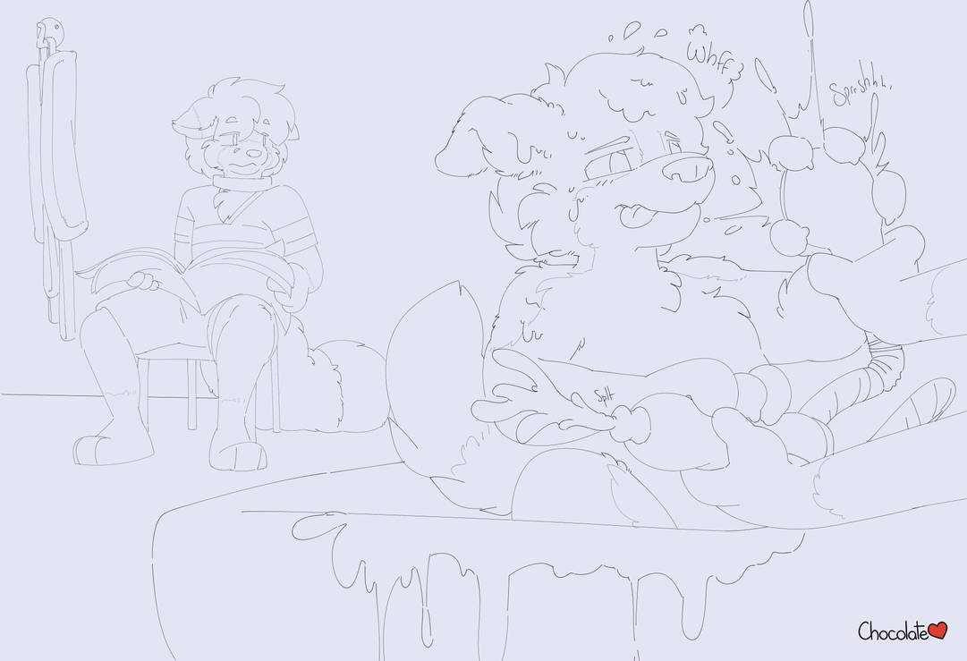 Wolfie's Streams - Grappling Groomer by chocosune