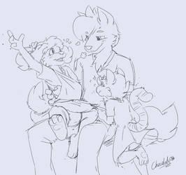 Happy Family by chocosune