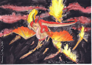 Sea of Fire by KigaWeirdo