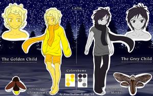 .: The Ferryman's Children - Ref sheet :. by HinaTheBlue