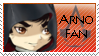 Commission :: Arno Fan Stamp by HinaTheBlue