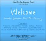 Free Banner Pack :: HBR (black'n'white)