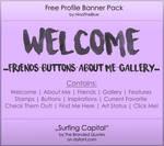 Free Banner Pack :: Surfing Capital (black'n'white