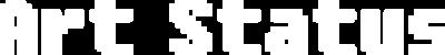 Art Status - Fixedsys (white)