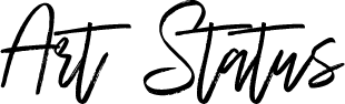 Art Status - Wilderness Typeface (black)