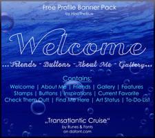 Free Banner Pack :: Transatlantik (black|white) by HinaTheBlue
