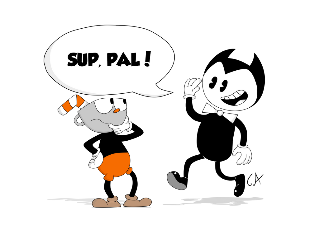 bendy and the ink machine cuphead