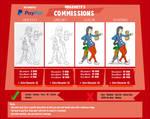 Mrgametv's Official Commission Sheet by Mrgametv1994