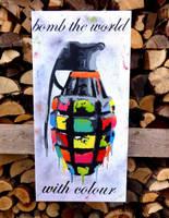 Bomb The World by marschl-arts