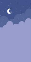 Free custom box bg: Cute Nightsky (Purple)