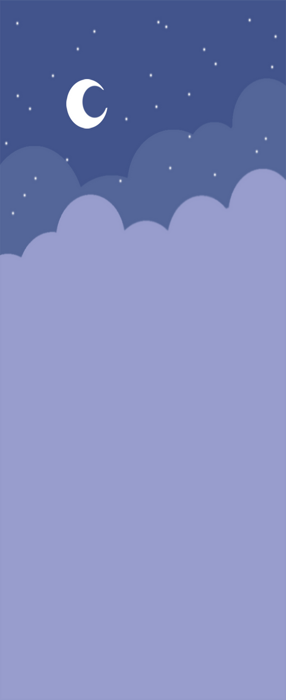 Free custom box bg: Cute Nightsky (Purple) by Hoshi-Hana