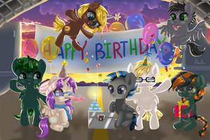 Commission | Happy Birthday! by Hoshi-Hana