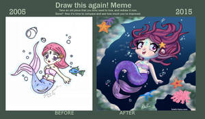 Draw this again meme - 10 years anniversary