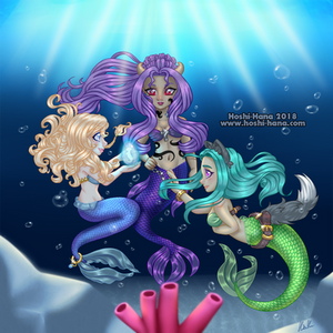 My three Mermaids - 2018