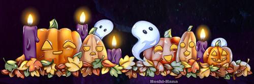 Halloween 2018 banner by Hoshi-Hana