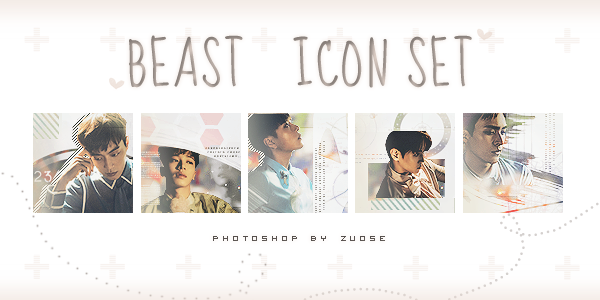 - 160712 -  # 002 BEAST Icon set by ZuoSe