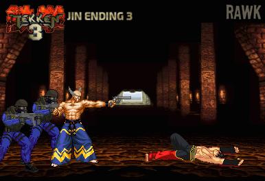 jin ending 3 tekken 3 by rawk klark on deviantart