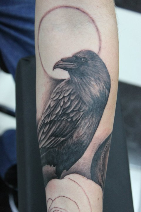 crow tattoo by ~pantsatpants on deviantART