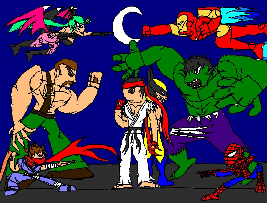 Marvel vs Capcom 3- World's Greatest Heroes by Thesimpleartist4