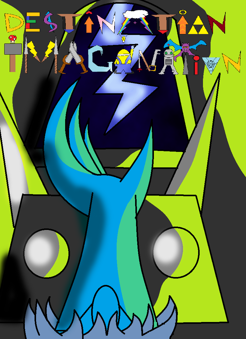 Destination Imagination Comic Cover by Thesimpleartist4