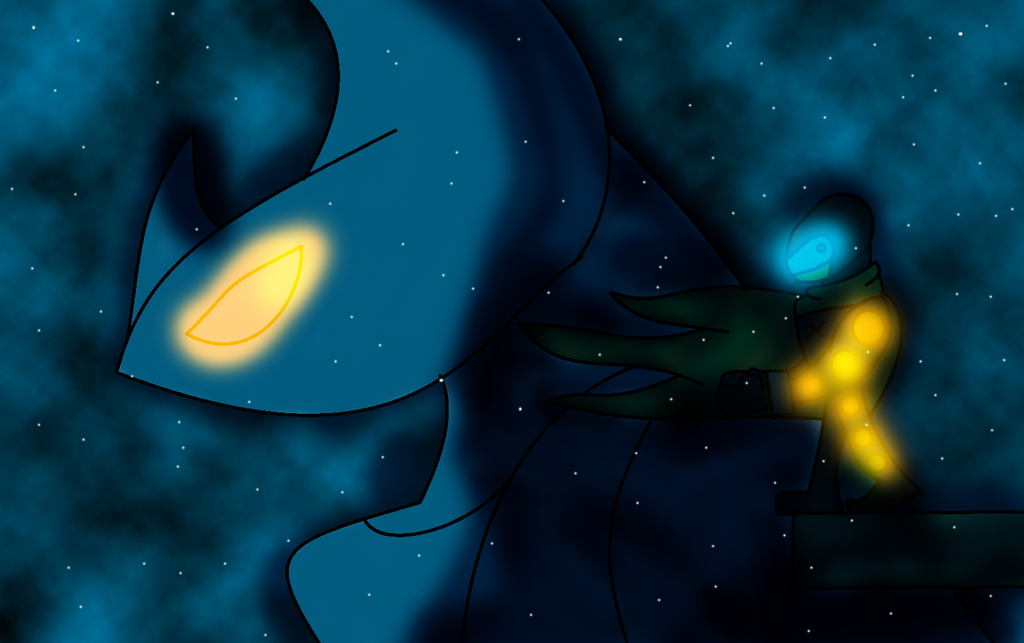 Destination Imagination-  Demon of Light by Thesimpleartist4