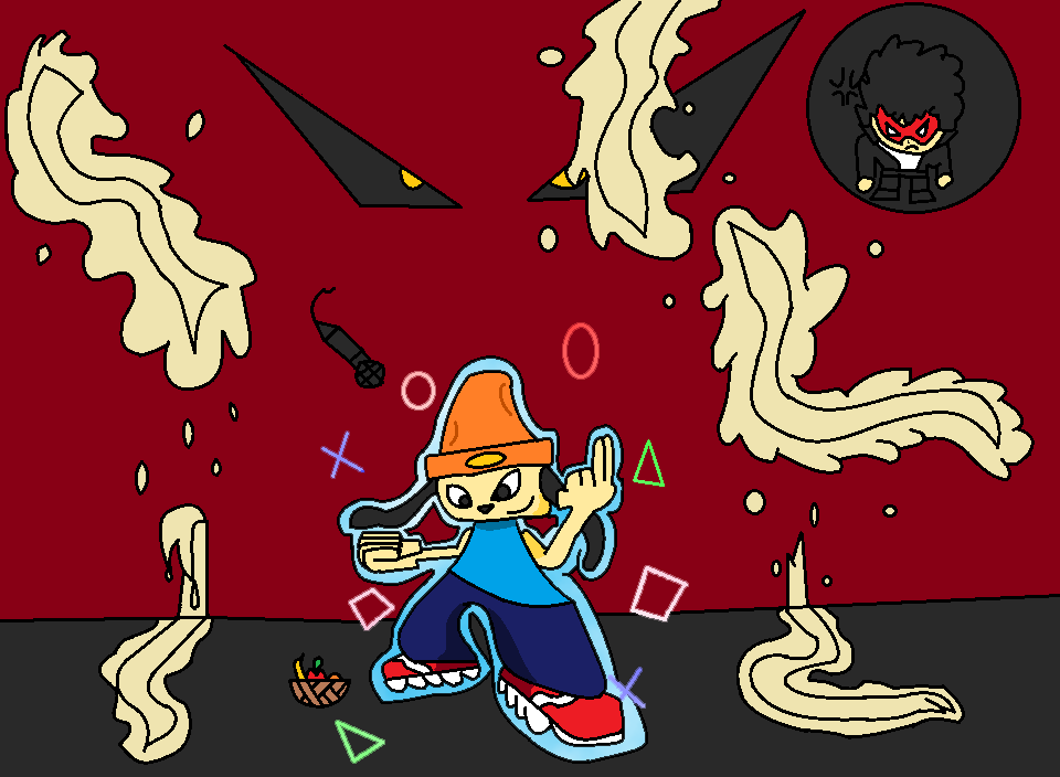Parrapa- Noodles CAN be Beat by Thesimpleartist4