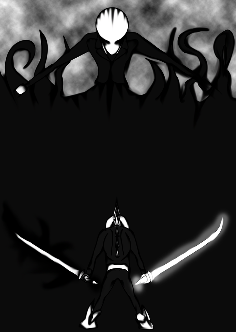 Alpha Demon Vs Slenderman by Thesimpleartist4