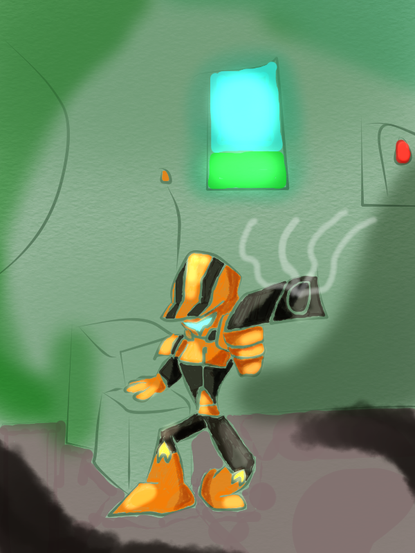 Omega Merc Terror by Thesimpleartist4