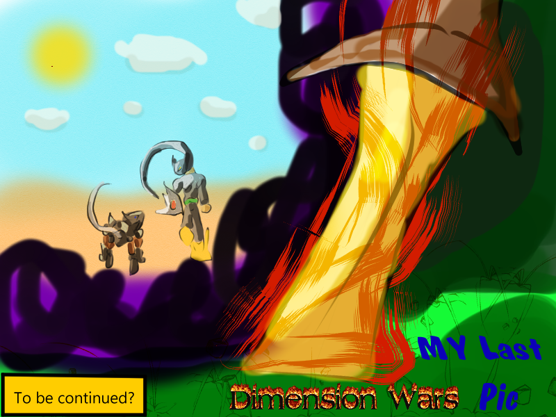 The last Dimension Wars pic- Moving Foward by Thesimpleartist4