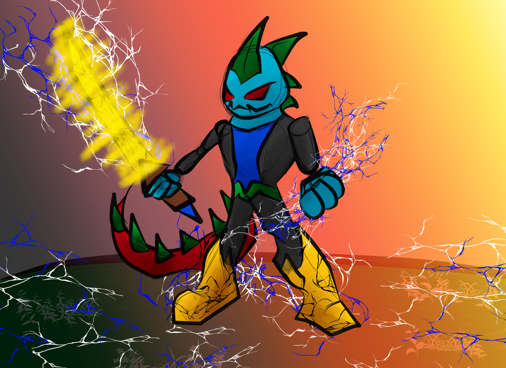 Alpha Brings the THUNDA BABY!!! by Thesimpleartist4