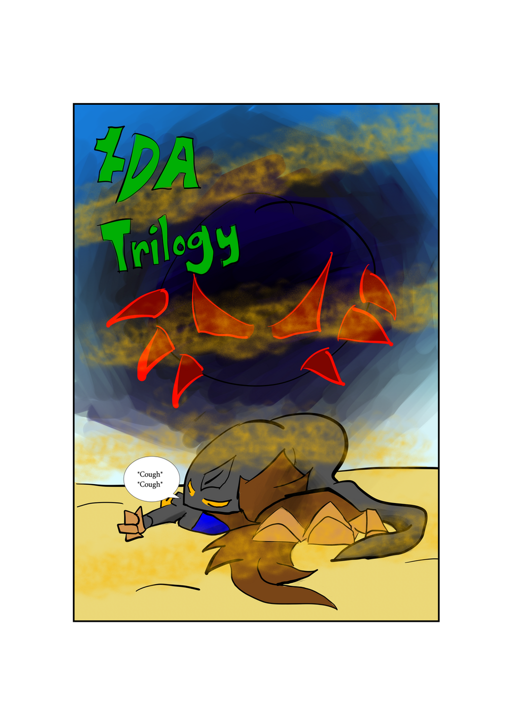 DA Trilogy Cover by Thesimpleartist4