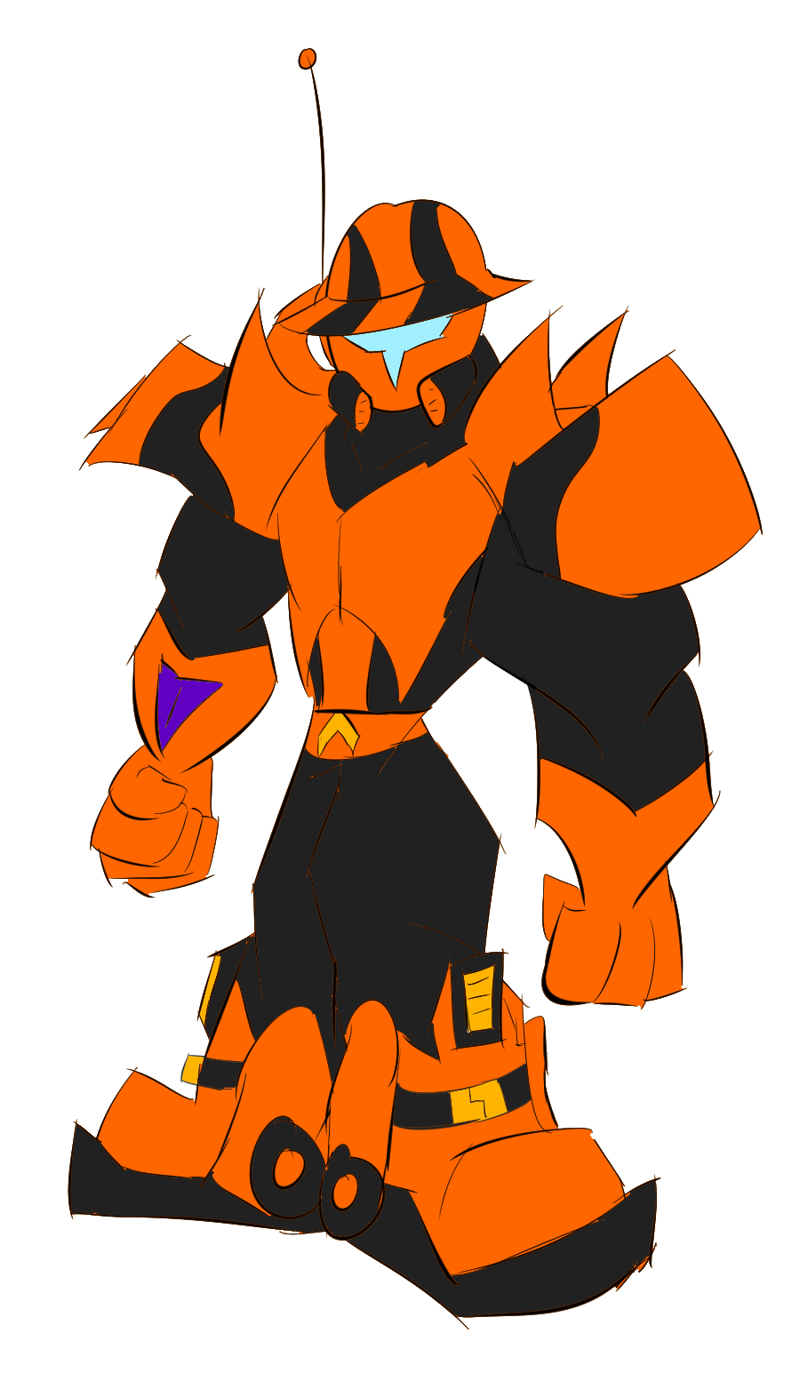 Omega Code by Thesimpleartist4