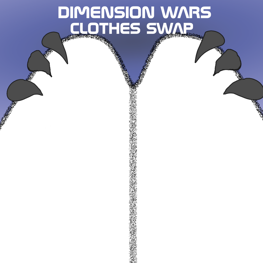 Dimension War Clothes Swap meme by Thesimpleartist4