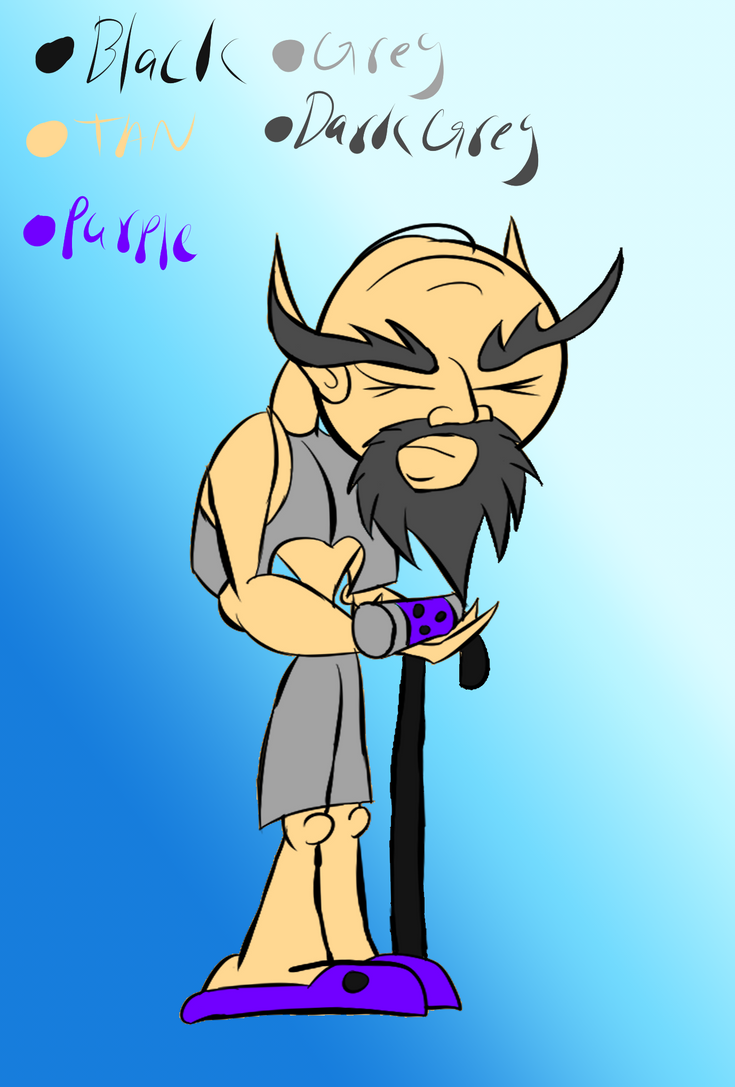CCOCT NPC-Socrates by Thesimpleartist4