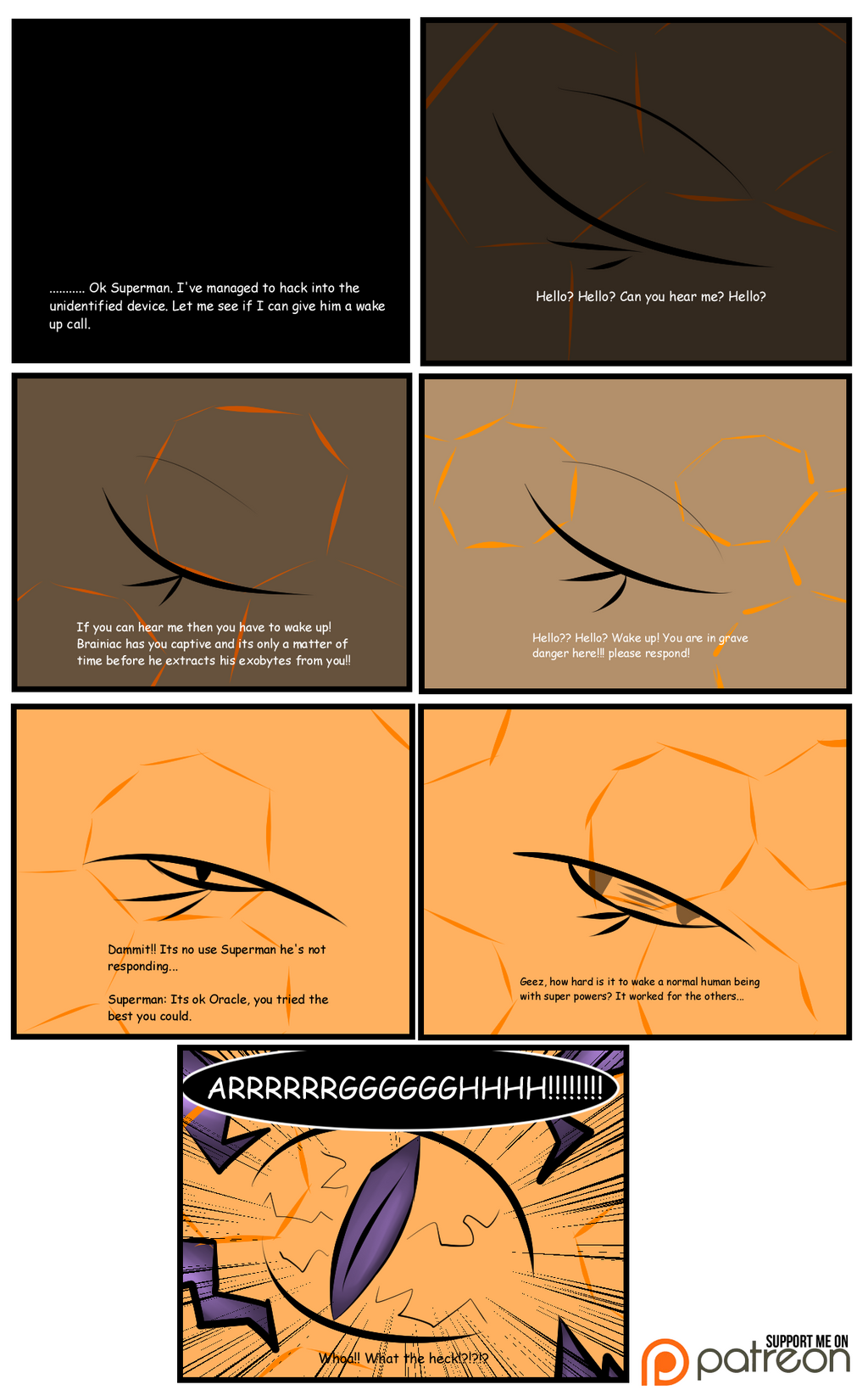 Flawless Comic Pg.1 by Thesimpleartist4
