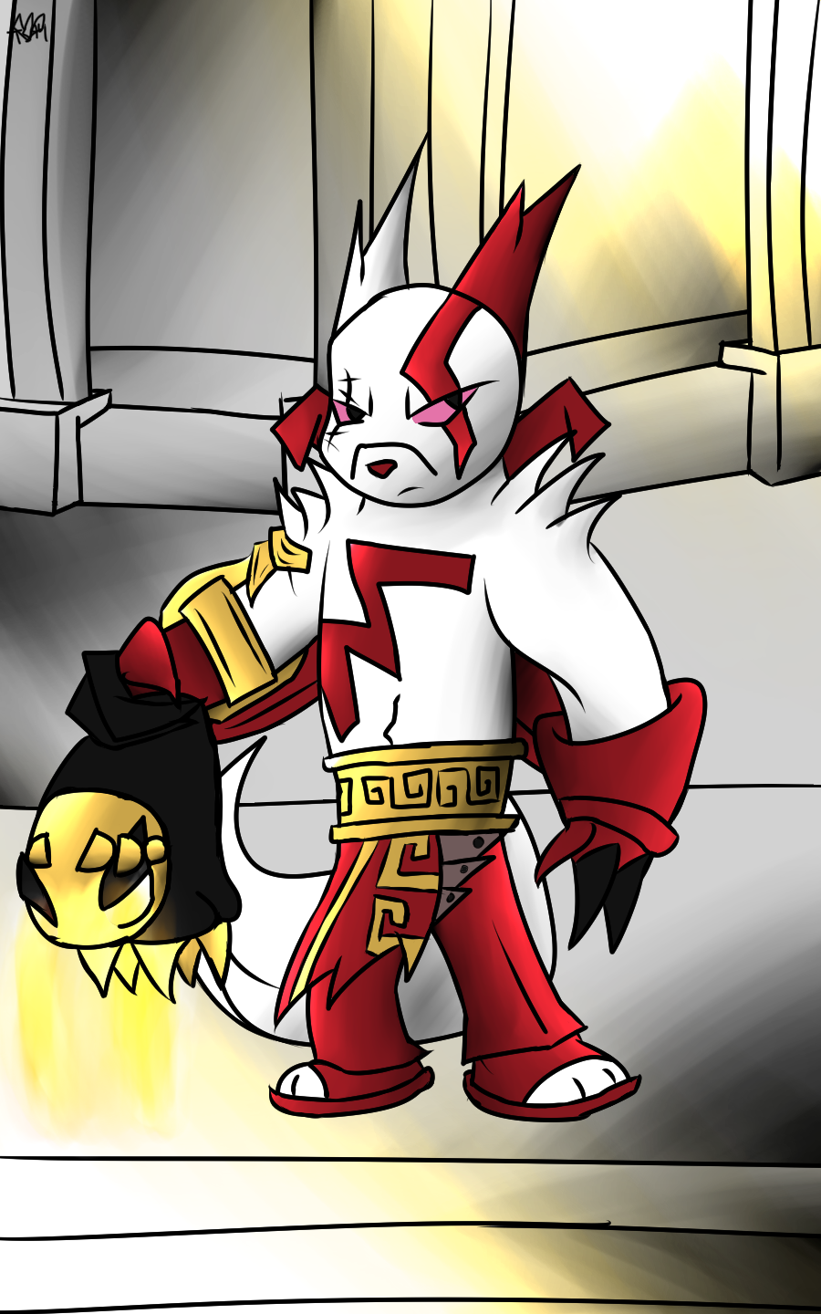 PokeGod of War by Thesimpleartist4