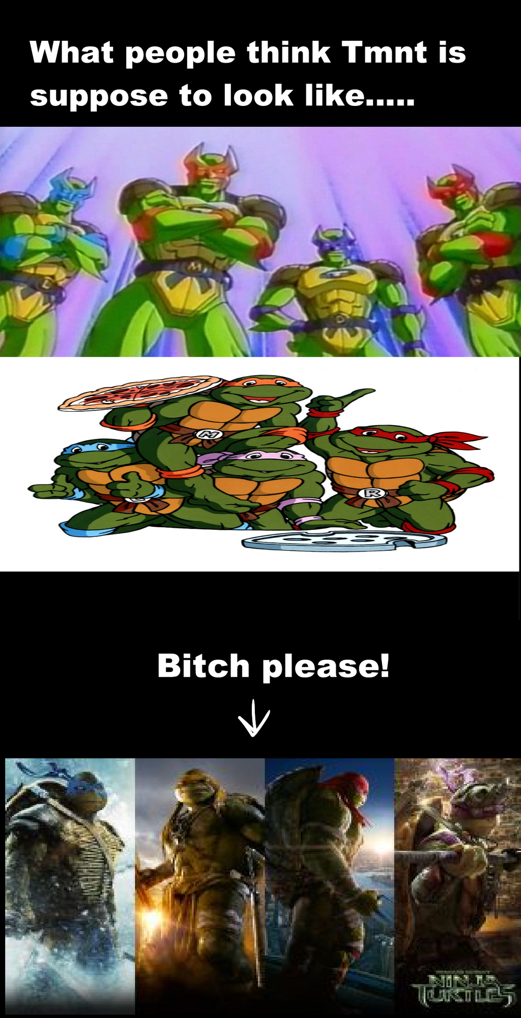 TMNT- what they SHOULD look like 0 by Thesimpleartist4