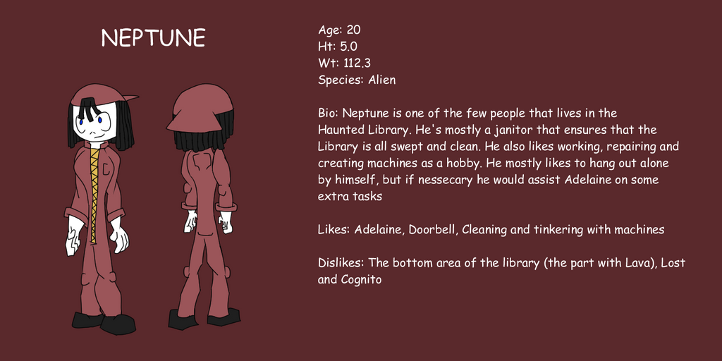 HL Neptune Ref by Thesimpleartist4