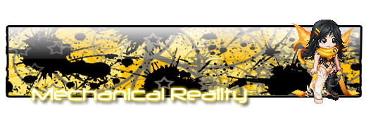 Mechanical Reality Banner by E-scope