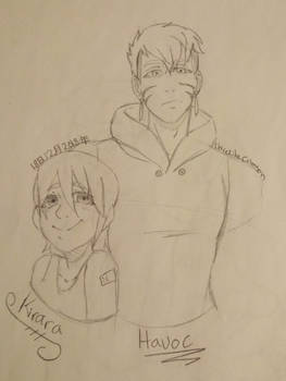 Havoc and Kirara