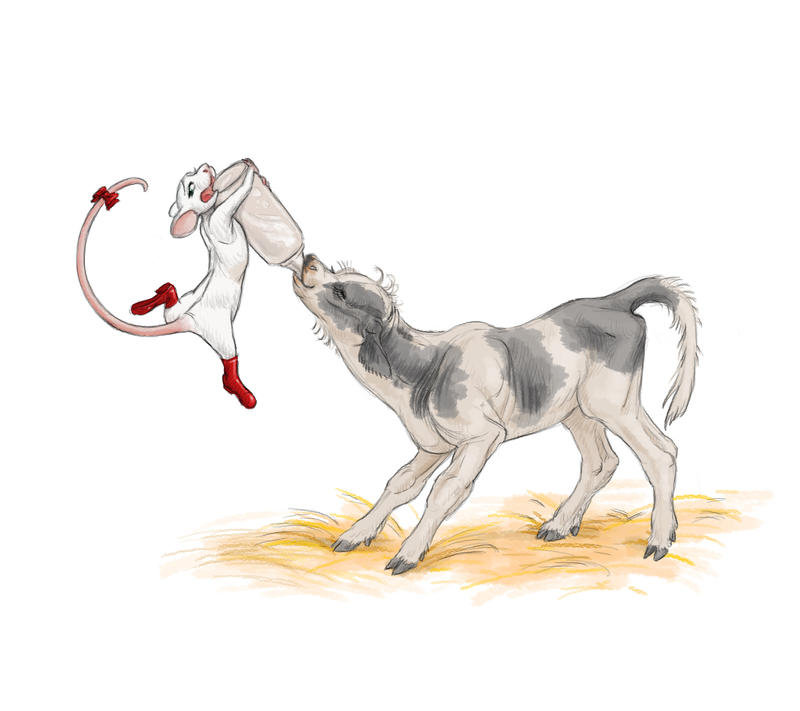 Farm Stay illustration by Adorael