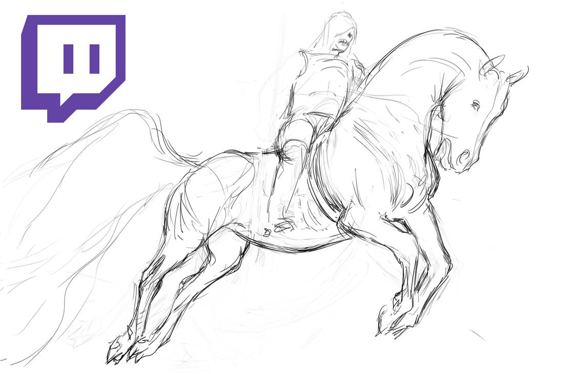 Streaming on Twitch by Adorael