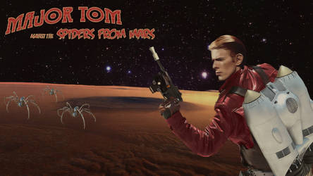 Major Tom Against The Spiders From Mars