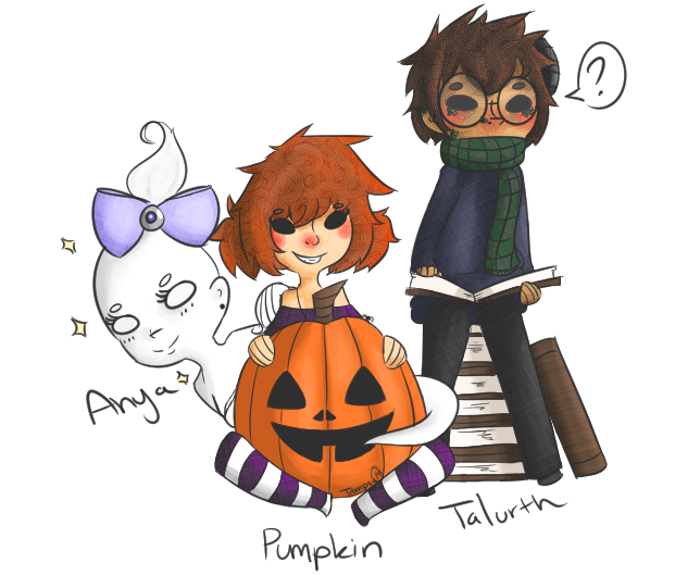 [Original Charas] Pumpkin Character Sketches 1 by TheTrampsy