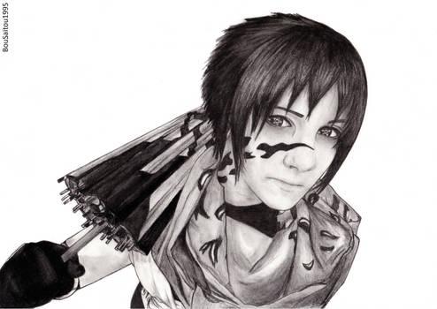 RoxcesableCosplay as Sasuke