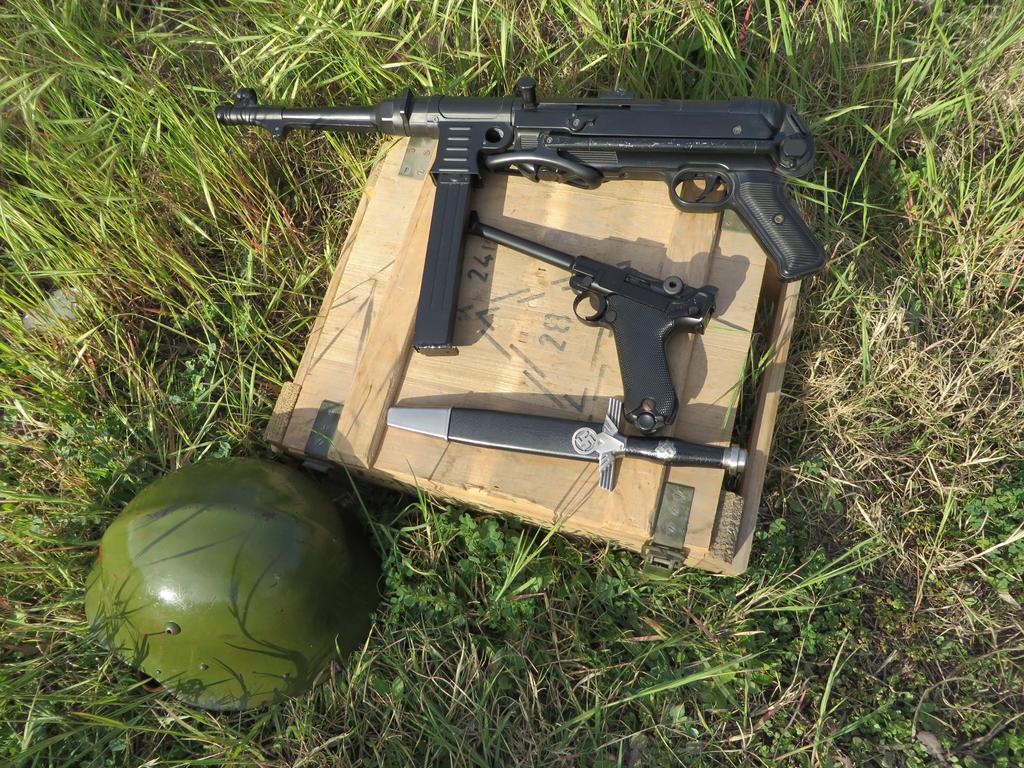 Weapons Cache (German WW2) by KevlarKatana
