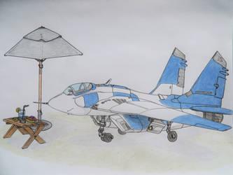 MiG-29 A Summer Snack by KevlarKatana